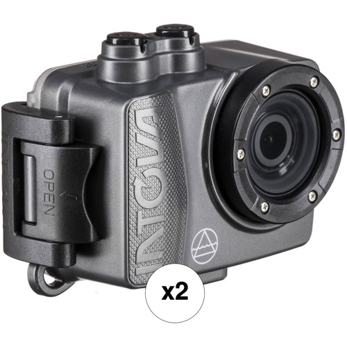 Intova Dual DUB Action Camera Kit (Graphite)