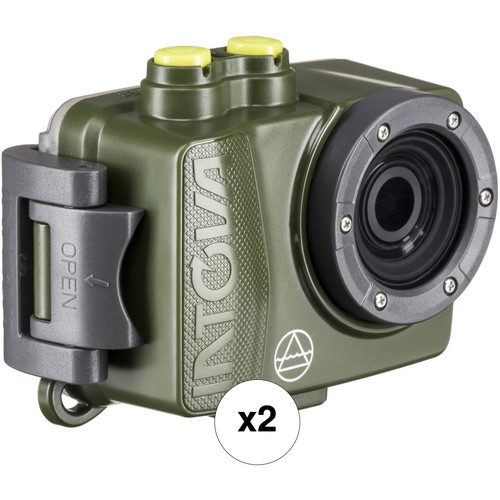 Intova Dual DUB Action Camera Kit (Forest)