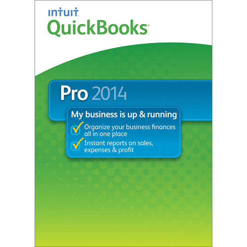 Intuit QuickBooks Pro for Windows 2014 (1-User License, Electronic Download)