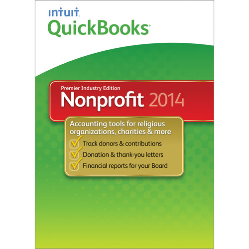 Intuit QuickBooks Premier Nonprofit for Windows 2014 (Electronic Download)
