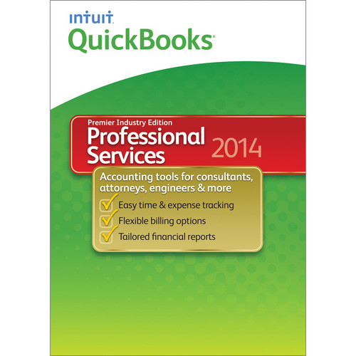Intuit QuickBooks Premier Professional Services for Windows 2014 (Electronic Download)