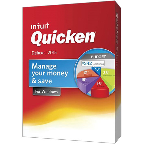 Intuit Quicken Deluxe 2015 for Windows (Download)