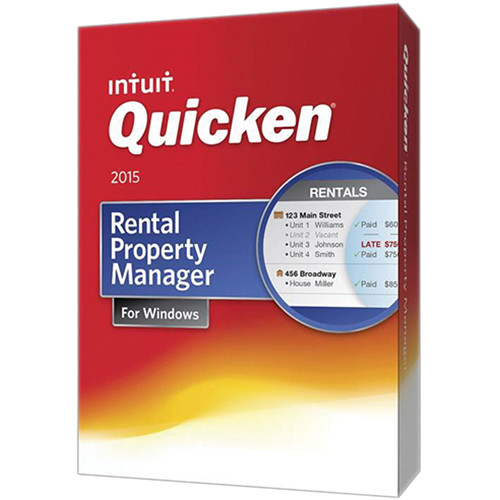 Intuit Quicken Rental Property Manager 2015 (Download)