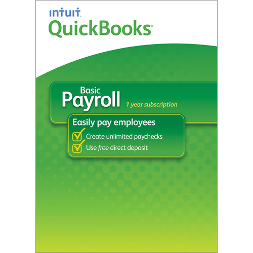 Intuit QuickBooks Basic Payroll for Windows 2014 (Download)