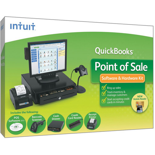Intuit QuickBooks Point of Sale Basic 2013 with Hardware