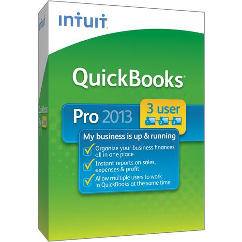 Intuit QuickBooks Pro 2013 (3 User Licenses)
