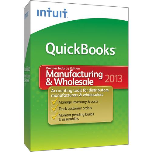 Intuit QuickBooks Premier Manufacturing & Wholesale 2013