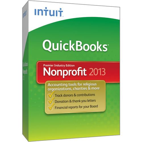 Intuit QuickBooks Premier Nonprofit 2013