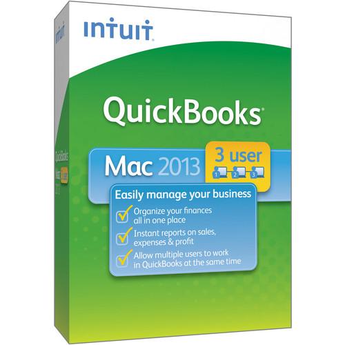 Intuit QuickBooks for Mac 2013 (3-User)