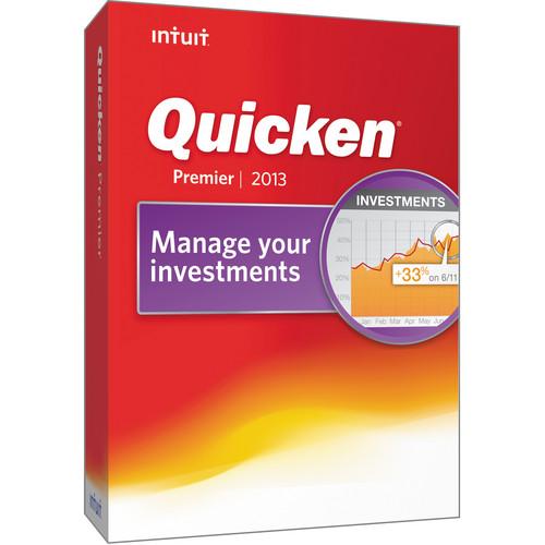 Intuit Quicken Premier 2013 (CD-ROM, 1-User)