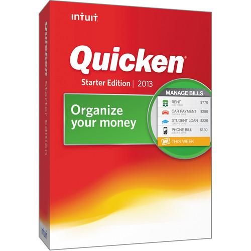 Intuit Quicken 2013 Starter Edition