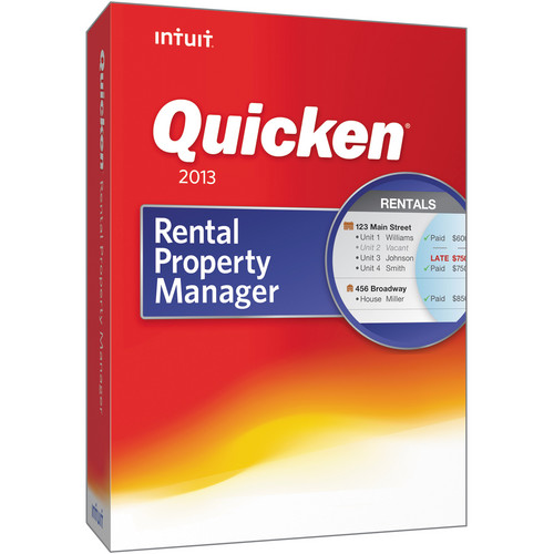 Intuit Quicken Rental Property Manager 2013 for Windows