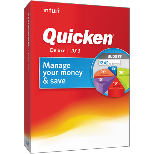 Intuit Quicken 2013 Deluxe (CD-ROM, 1-User)