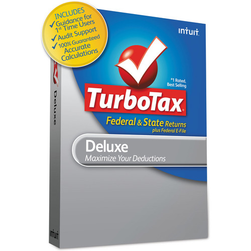 Intuit TurboTax Deluxe 2012 420479 B&H Photo Video