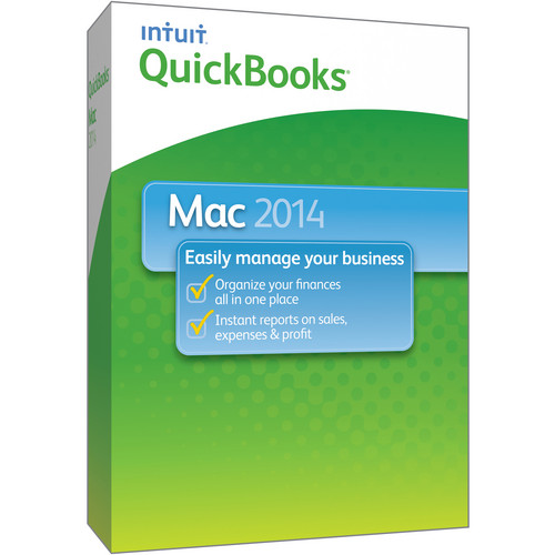 Intuit QuickBooks for Mac 2014 (1 User)