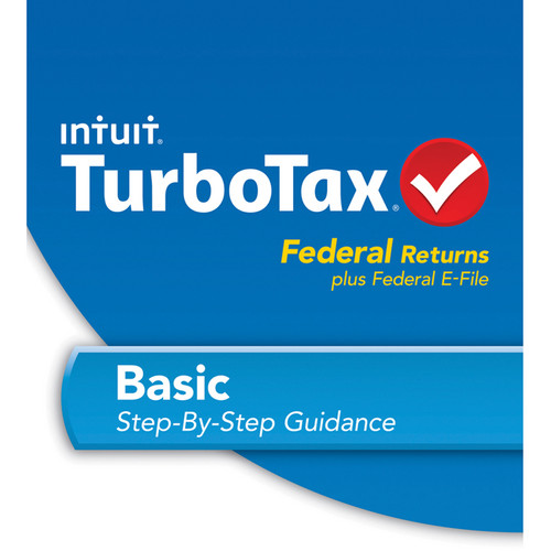 Intuit TurboTax Basic Federal + E-File 2013 (Download Version)
