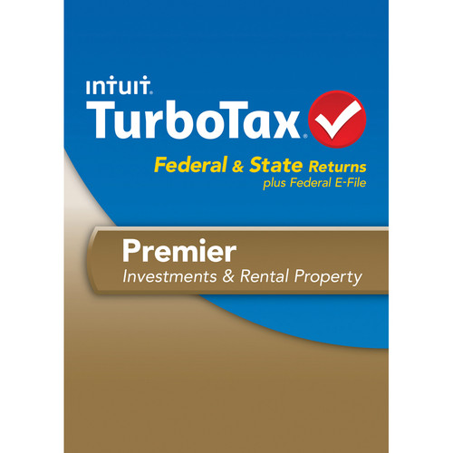 Intuit TurboTax Premier Federal E-File and State 2013 for Mac (Download)