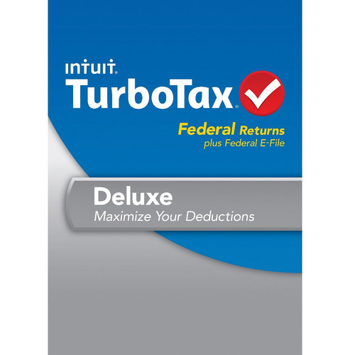 Intuit TurboTax Deluxe Federal and E-File 2013 for Windows (Download)