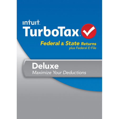 Intuit TurboTax Deluxe Federal + E-File + State 2013 for Windows (Download)