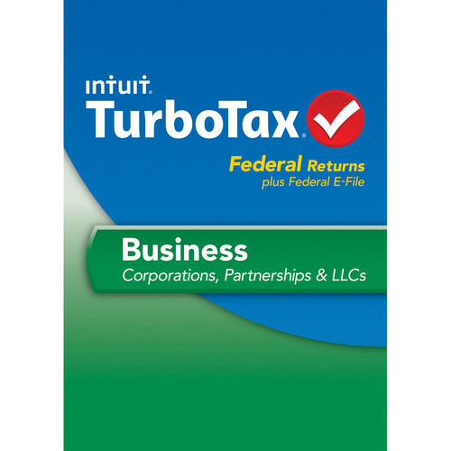 Intuit TurboTax Business Federal + E-File 2013 for Windows (Download)