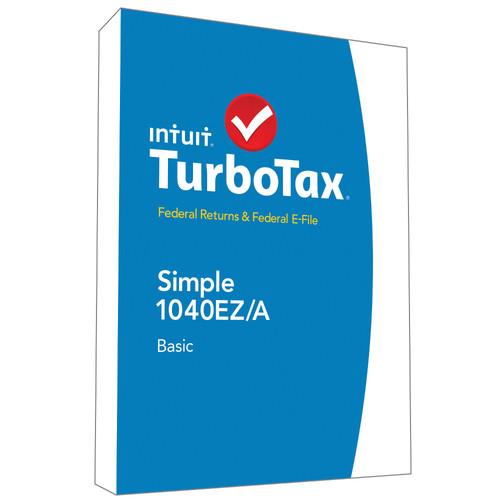 Intuit TurboTax Basic Federal + E-File 2014 424479 B&H Photo