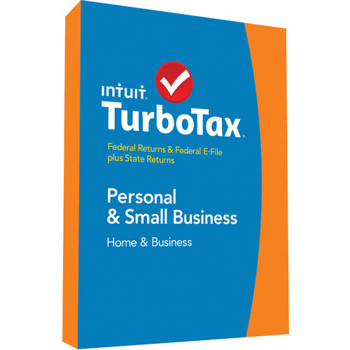 Intuit TurboTax Home & Business Federal E-File + State