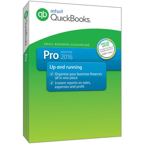 Intuit QuickBooks Pro 2016 (1-User, Download)