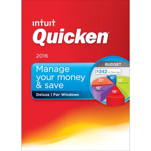 Intuit Quicken Deluxe 2016 (Boxed)