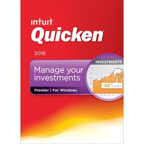 Intuit Quicken Premier 2016 (Boxed)