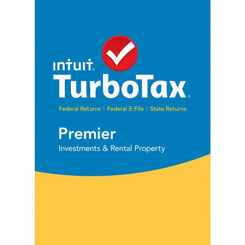 Intuit TurboTax Premier Federal E-File + State 2015 (Download, Mac)