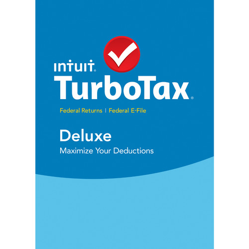 Intuit TurboTax Deluxe Federal + E-File 2015 (Download, Windows)