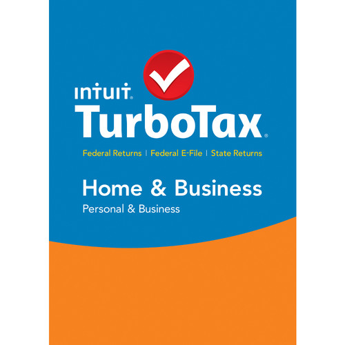 Intuit TurboTax Home & Business Federal E-File + State 2015 (Download, Windows)