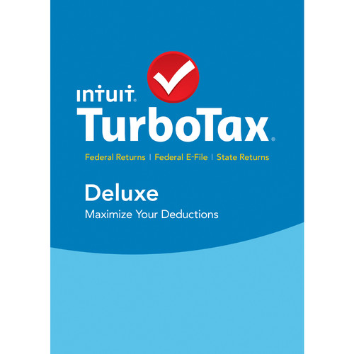 Intuit TurboTax Deluxe Federal E-File + State 2015 (Download, Windows)