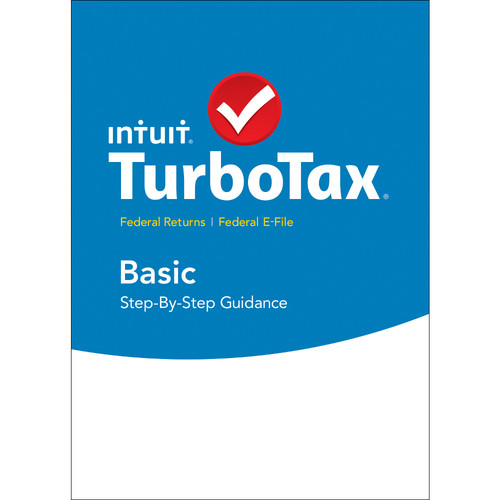 Intuit TurboTax Basic Federal + E-File 2015 (Download, Mac)