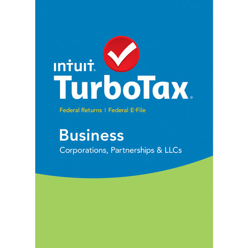 Intuit TurboTax Business Federal + E-File 2015 426937 B&H