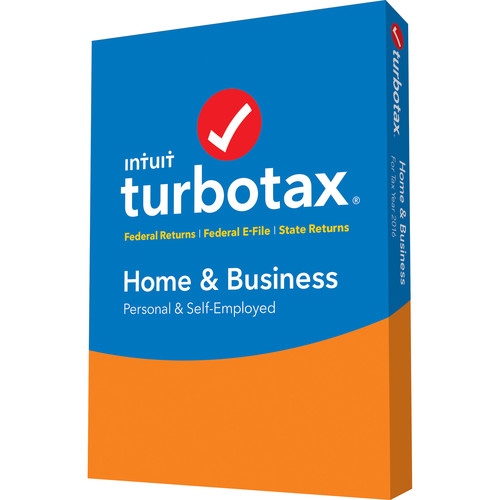 Intuit TurboTax Home and Business Federal E-File + State 2016