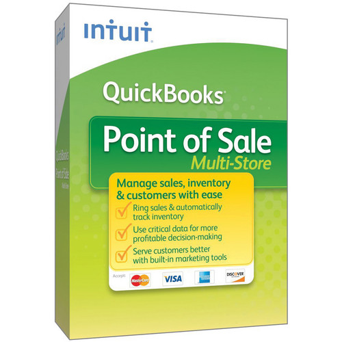 Intuit QuickBooks Point of Sale 2013 (Multi-Store)