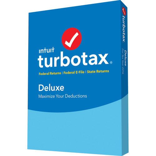 Intuit TurboTax Deluxe 2017 (Boxed)