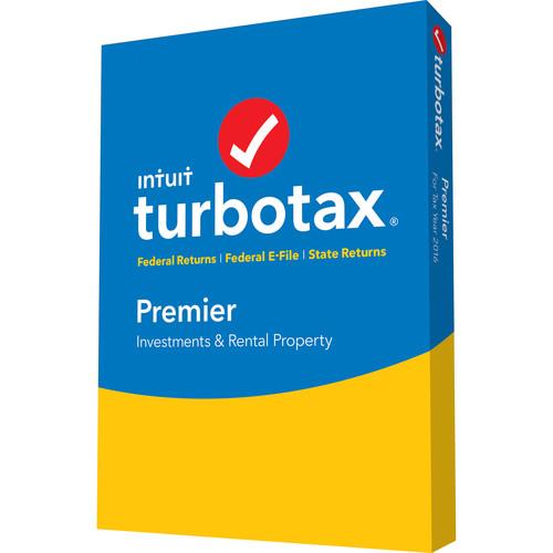 Intuit TurboTax Premier 2017 (Boxed) 605061 B&H Photo Video