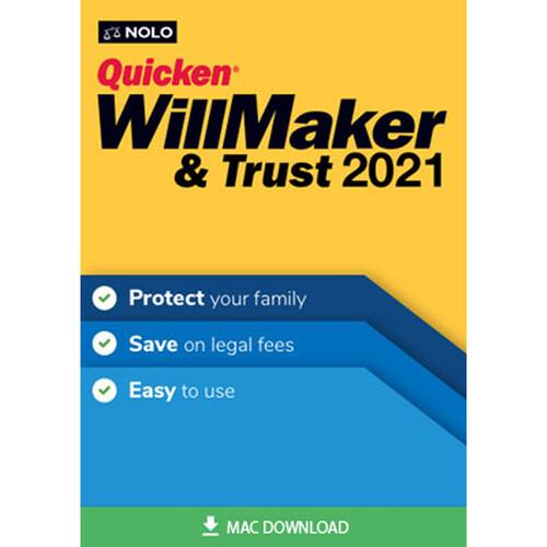 Nolo Quicken WillMaker & Trust 2021 for Mac (Download)