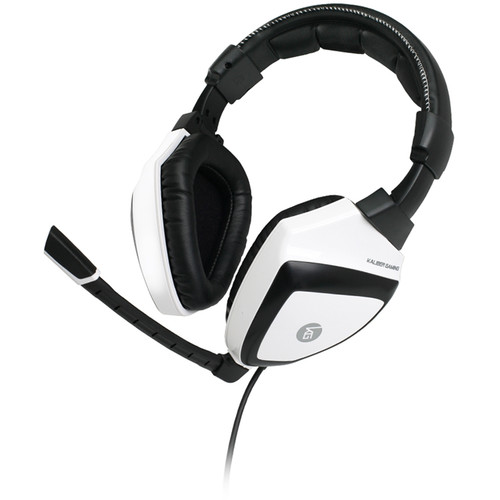 IOGEAR Kaliber Gaming KONVERT Universal Gaming Headphones (Black and White)