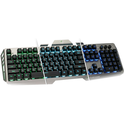 IOGEAR Kaliber Gaming HVER Aluminum Gaming Keyboard (Black/Gray)