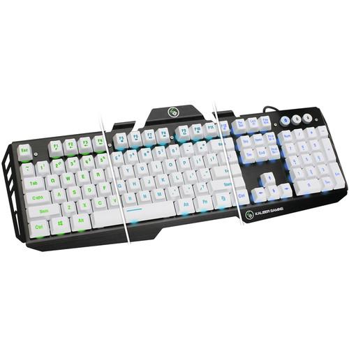 IOGEAR HVER Backlit Keyboard (Imperial White)