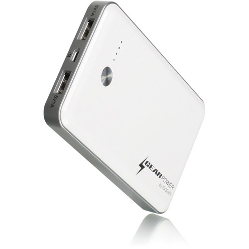 IOGEAR GearPower 7,000mAh Capacity Mobile Power Station (White)