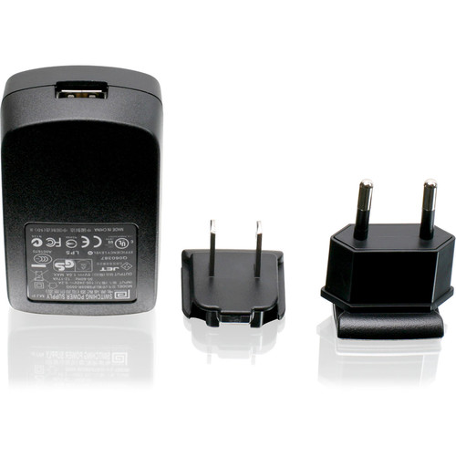 IOGEAR USB Power Adapter with US and European Plugs