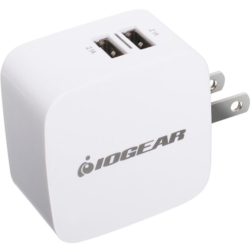 IOGEAR GearPower Dual USB Wall Charger