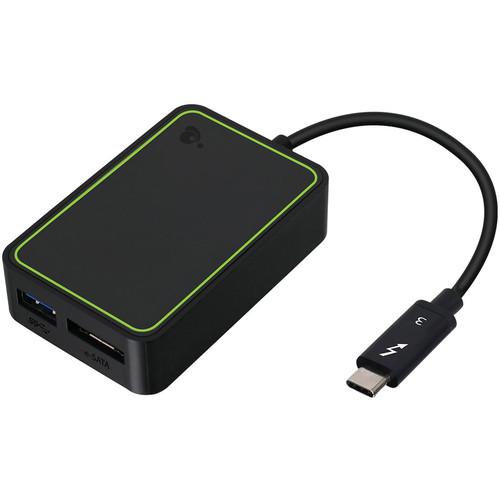 IOGEAR Thunderbolt 3 to eSATA and USB Type-A Adapter