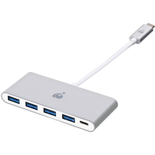 IOGEAR USB Type-C to 4-Port USB Type-A Hub with Power Delivery