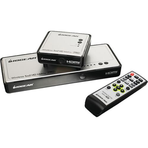 IOGEAR Wireless 5 x 2 HD Matrix Pro