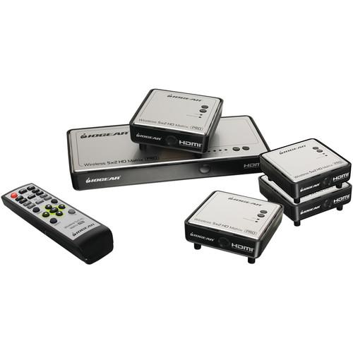 IOGEAR IOGEAR Wireless 5 x 2 HD Matrix Pro with Three Additional Receivers
